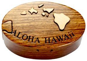 Puzzle Jewelry Box Puzzle Box Hawaiian Islands